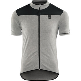 Craft Point Jersey Men Dark Grey Melange/Black